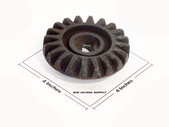 Bevel Gear for Simes Jack Thrust Screw parts for all simes grain bin jacks