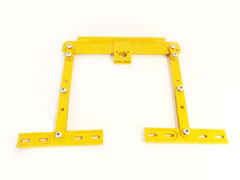 Linkage parts for all simes grain bin jacks