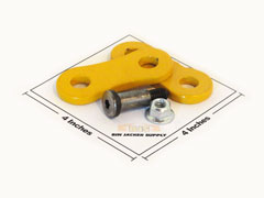Dogbone Link with Bolt and Nut for Simes Jacks