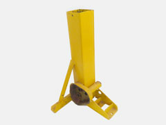 Jack base parts for all simes grain bin jacks