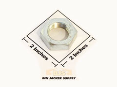 Jam Nut for Simes Jack Thrust Screw parts for all simes grain bin jacks