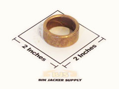 Sib Simes Grain Bin Jack Gear Box Cover Bushing