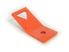Center pole anchor cable bracket
