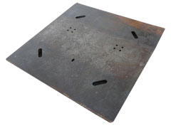 Center pole Base Plate