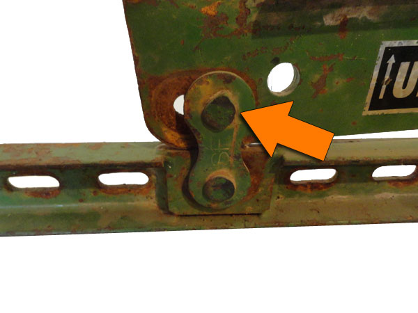 Anderson Simes riveted linkage.