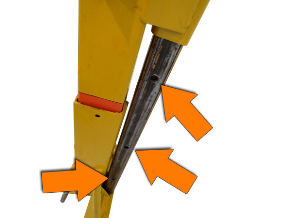 Schorn Simes 3 pick hole lift tube.