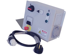 Control Panel with Single Outlet